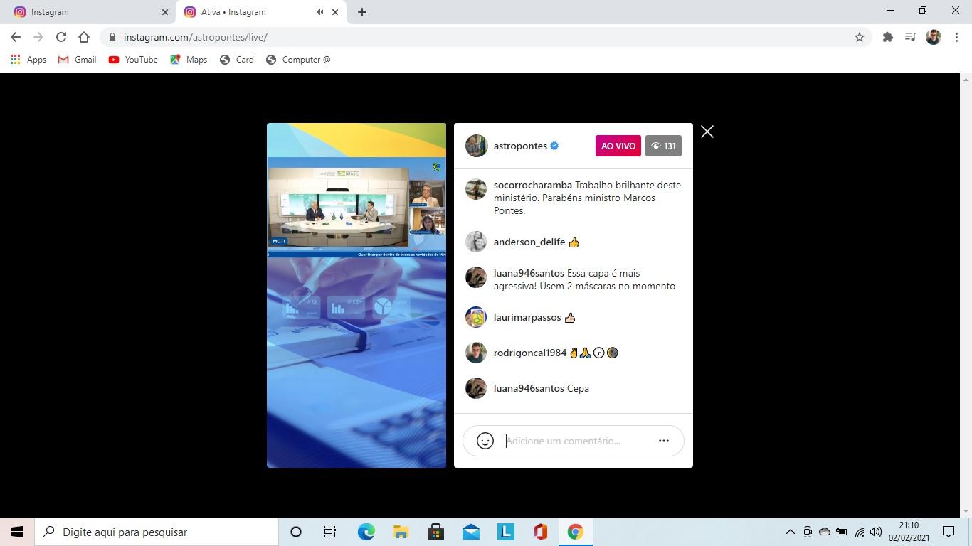live-instagram-saudepaz